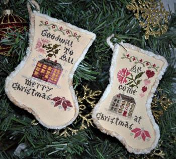 Sampler Stockings 2018