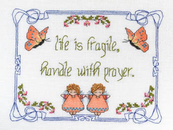 Life Is Fragile - Handle WithPrayer