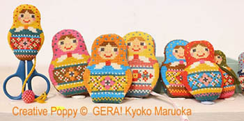 Matryoshka Needlework Set