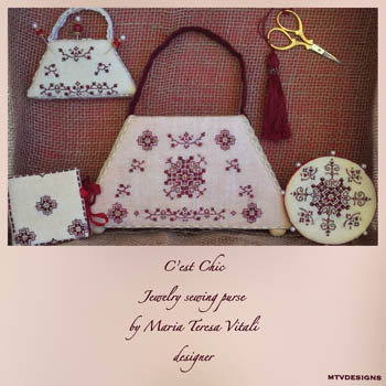 C'est Chic Jewelry Sewing Purse