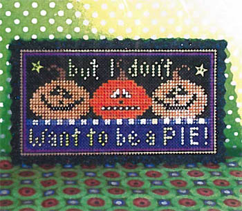 But I Don't Want To Be A PieKit (paper, felt, & buttons)
