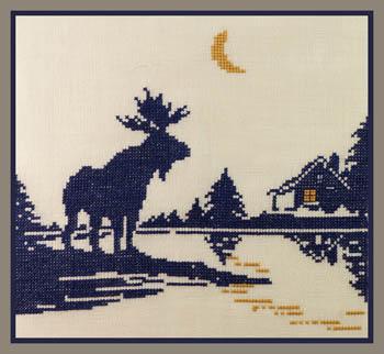 Moose Silhouette 2