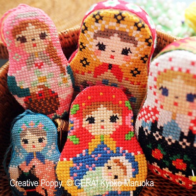 Matryoshka Needlework Set II