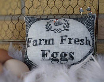 Farm Fresh Eggs (w/button)