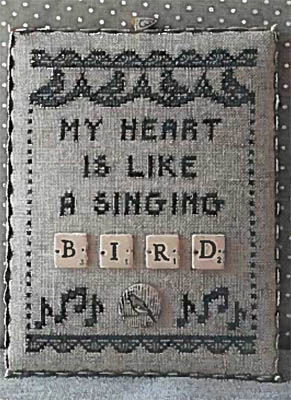 Bird - Scrabble 2 (w/buttons)