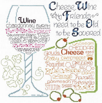 Let's Share Wine And Cheese