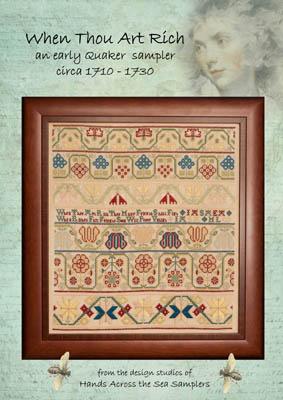 When Thou Art Rich Circa 1710-30