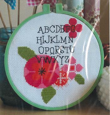 Modern Flower Alphabet