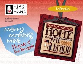 Merry Making Mini - Home Of The Brave (w/embellishments)