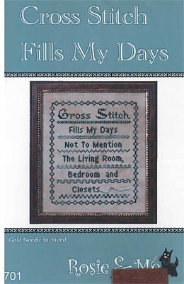 Cross Stitch Fills My Days