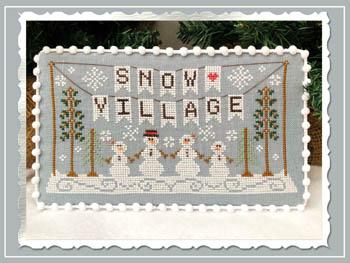 Snow Village 1 - Banner