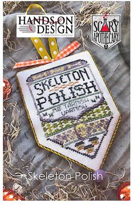 Skeleton Polish Scary Apothecary