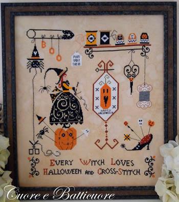 Halloween And Cross Stitch