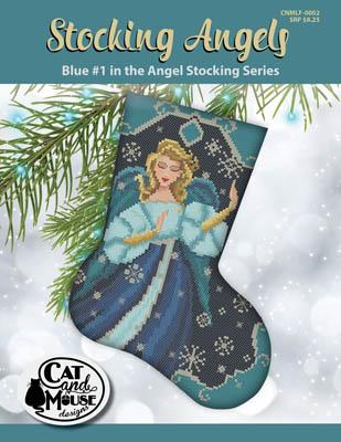 Stocking Angel 1 - Blue In TheAngel
