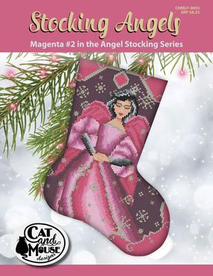 Stocking Angel 2 - Magenta InThe Angel