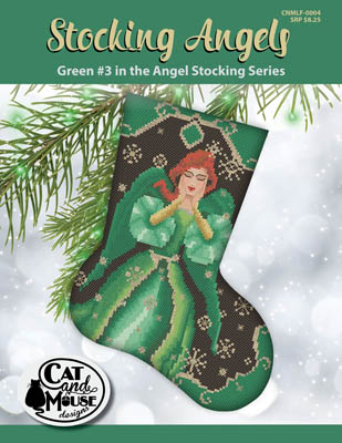Stocking Angel 3 - Green In The Angel