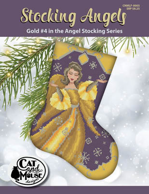 Stocking Angel 4 - Gold In TheAngel
