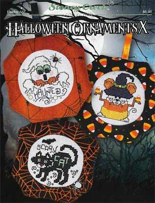 Halloween Ornaments X