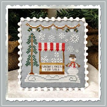 Snow Village 3 - Snowflake Stand