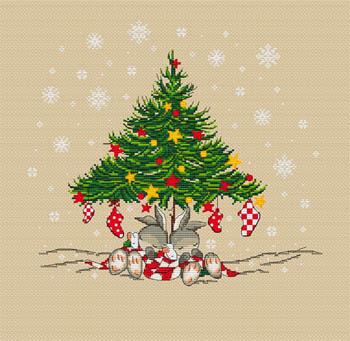 Christmas Bunnies Tree