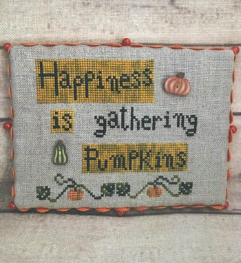 Happiness With Pumpkins