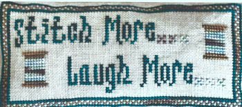 Stitch More Laugh More
