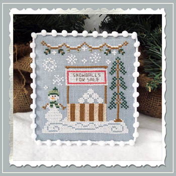 Snow Village 8 - Snowball Stand