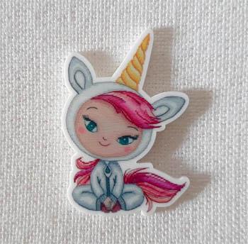 Lili Unicorn Magnet