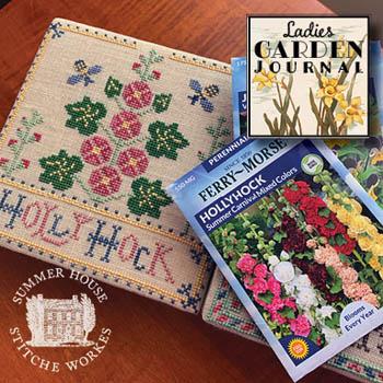 Ladies Garden Journal 2 - Holly Hock