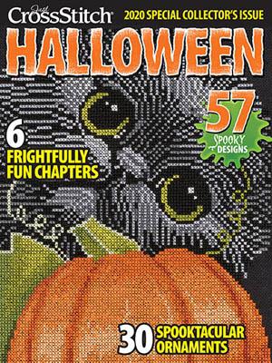 Just CrossStitch Halloween 2020