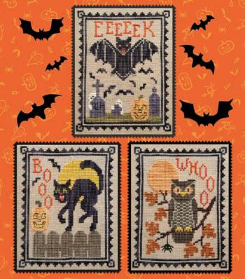 Halloween Critter Trio