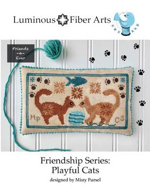 Friendship Series - Playful Cats