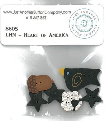 Heart Of America Button Pack (LHN) 8605.G