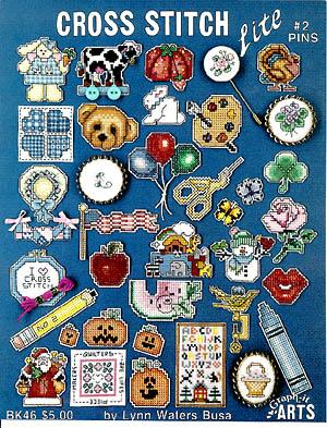 Cross Stitch Lite #2 Pins
