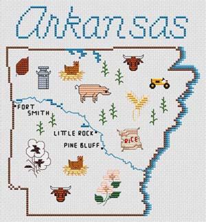 Arkansas Map