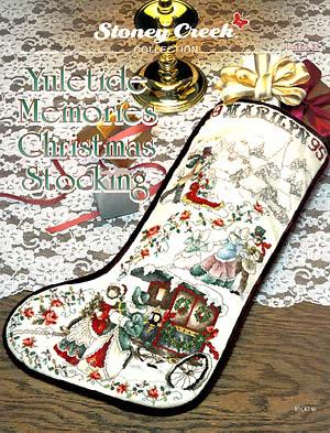 Yuletide Memories Christmas Stocking