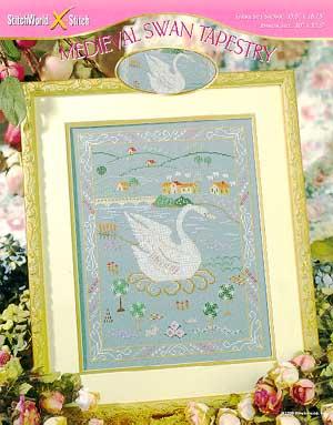 Medieval Swan Tapestry