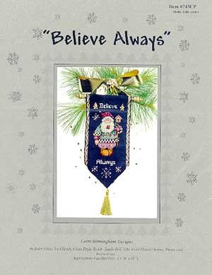 Believe Always (Santa & Gingerbread)
