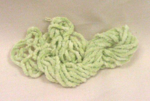 Apple Green Chenille (3yds)