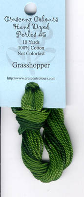 Grasshopper-Perle Cotton 5