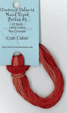 Crab Cakes - Perle Cotton 5