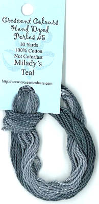 Milady's Teal - Perle Cotton 5