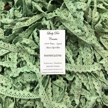 Dandelions Lace (2 yards)