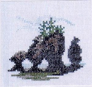 Hopewell Rocks (Miniature)