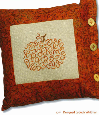 Alphabet Pumpkin