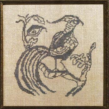 Toile Blue Pheasant