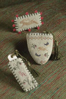 Rabbit Garden Sewing Set