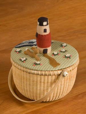 Nantucket Strawberries BasketTopper