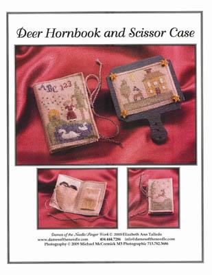 Deer Hornbook & Scissor Case