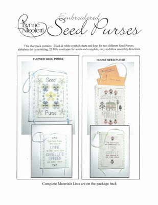Embroidered Seed Purses